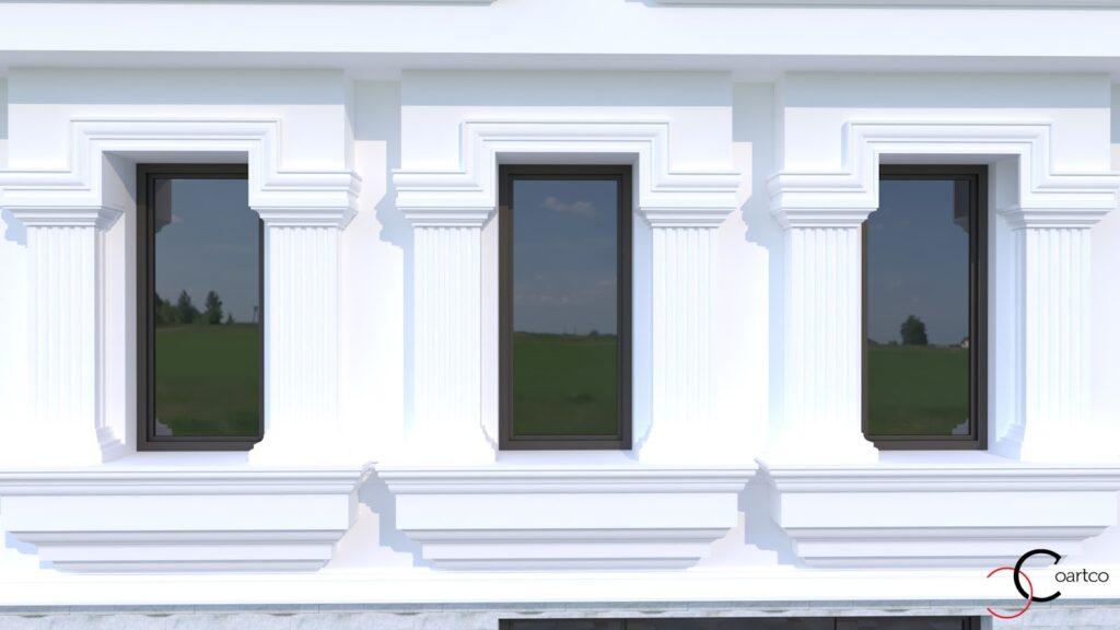 Serviciu suplimentar simulare design fatada casa CoArtCo