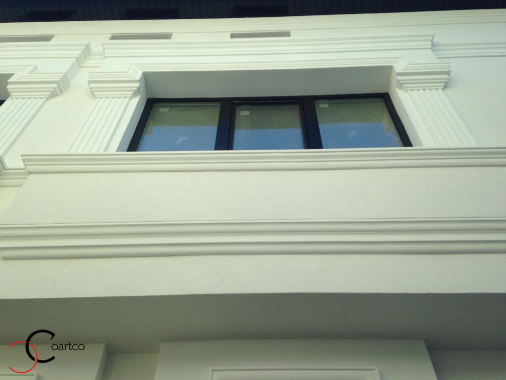 Ancadrament fereastra cu Fronton din Polistiren CoArtCo