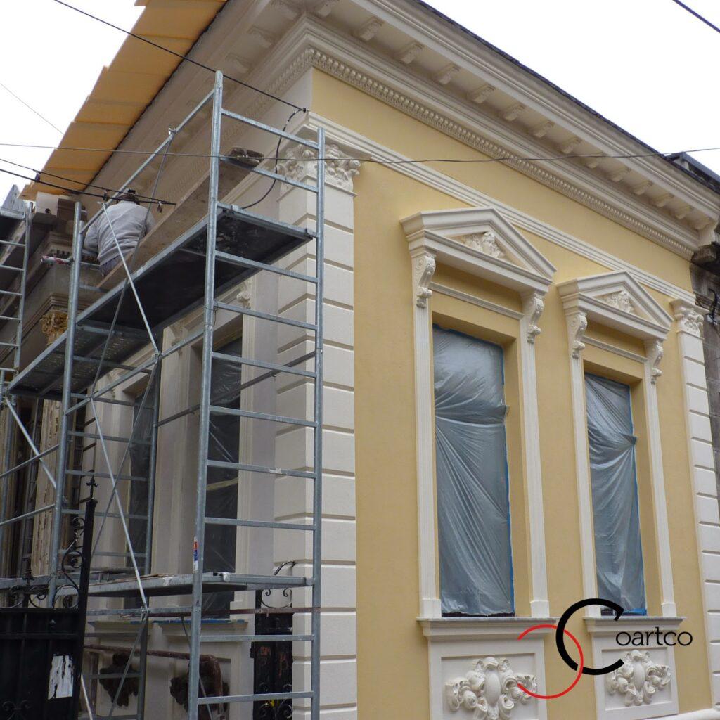 firma constructii montaj profile decorative fatada, ornamente polistiren