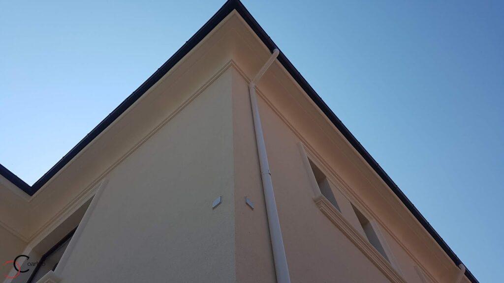 Profile decorative din polistiren CoArtCo pentru fatada casei - cornisa decorativa din polistiren