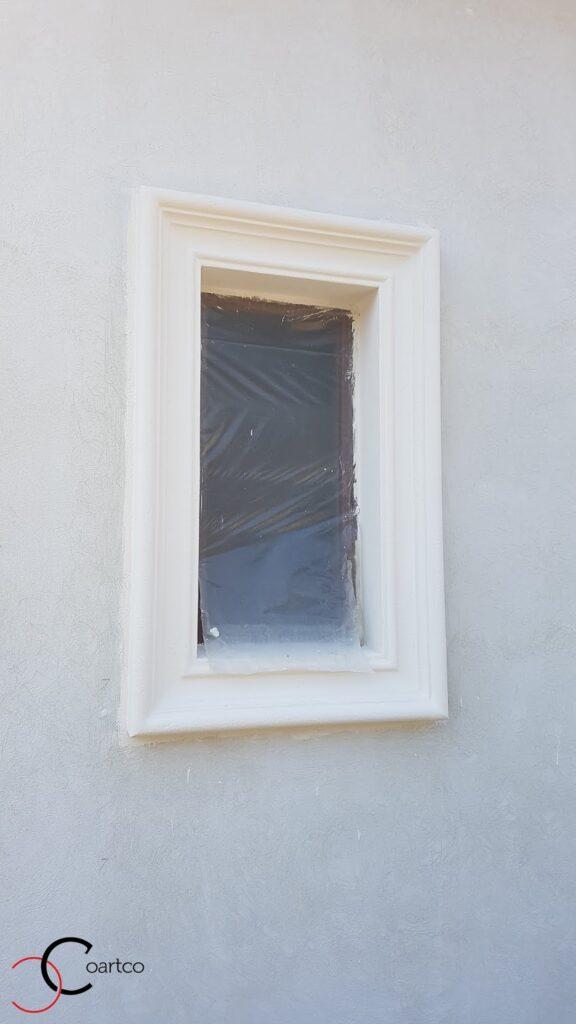 Ancadrament fereastra din polistiren CoArtCo