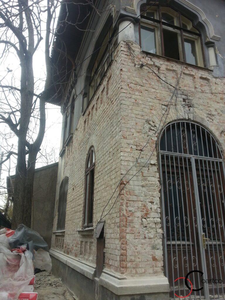 profile decorative vechi reconditionare fatade case vechi strada popa nan bucuresti