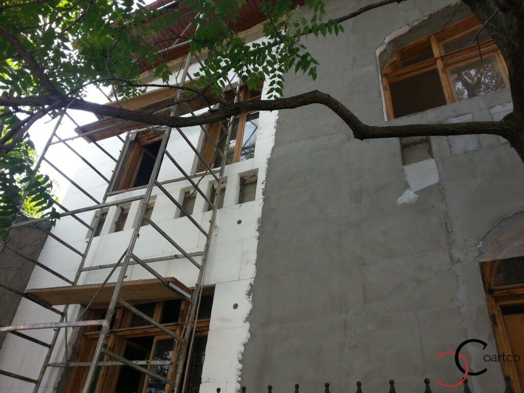 Reconditionare profile decorative vechi  strada popa nan bucuresti