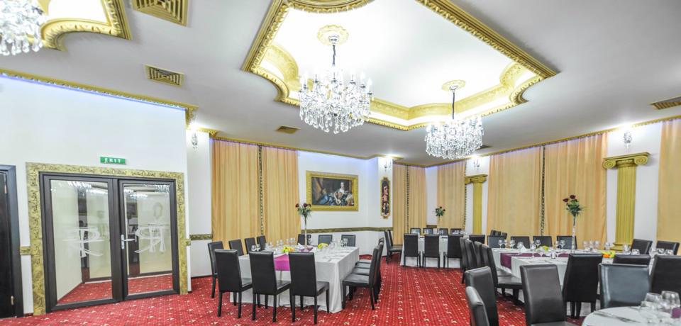 Salon Evenimente Topolog cu Profile Decorative din Polistiren CoArtCo