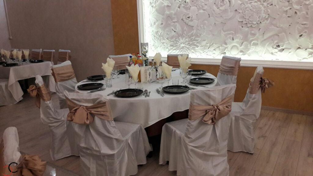 Panouri decorative 3D cu flori din polistiren CoArtCo pentru sali de nunti si saloane de evenimente