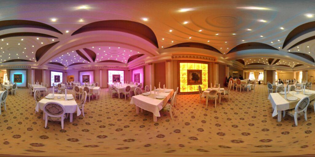Amenajare restaurant si salon de evenimente cu profile decorative din polistiren CoArtCo