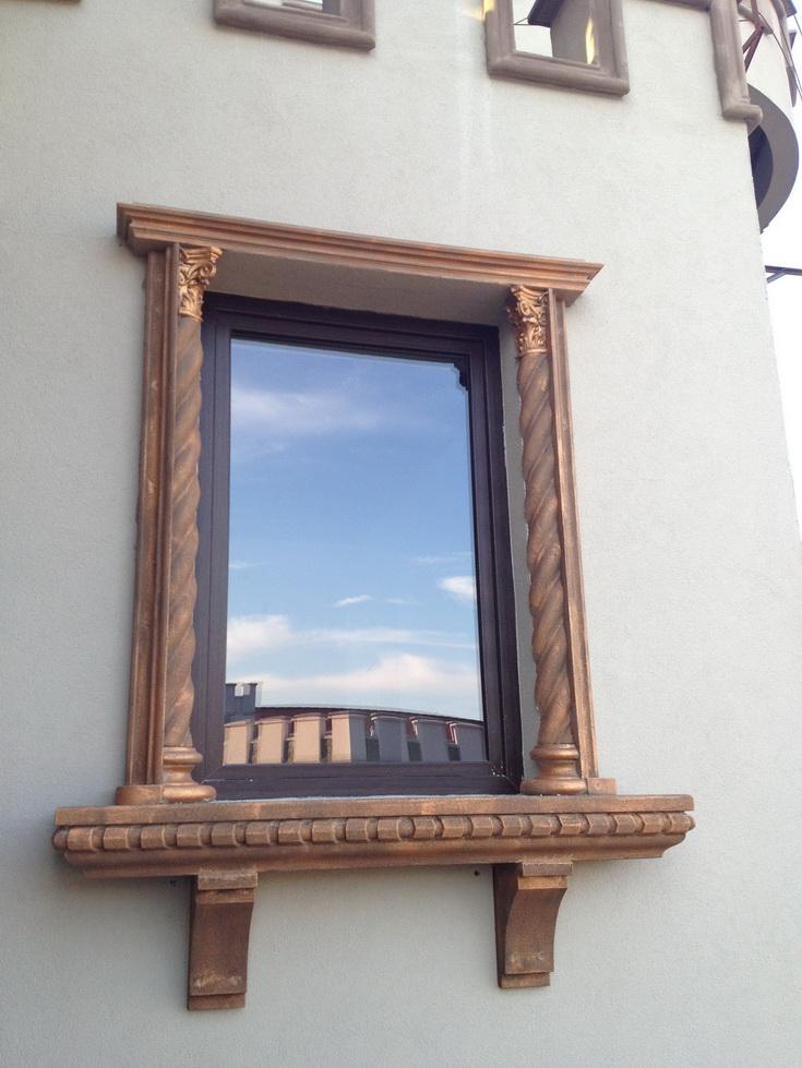 Ancadrament fereastra pentru exterior salon de evenimente din polistiren CoArtCo