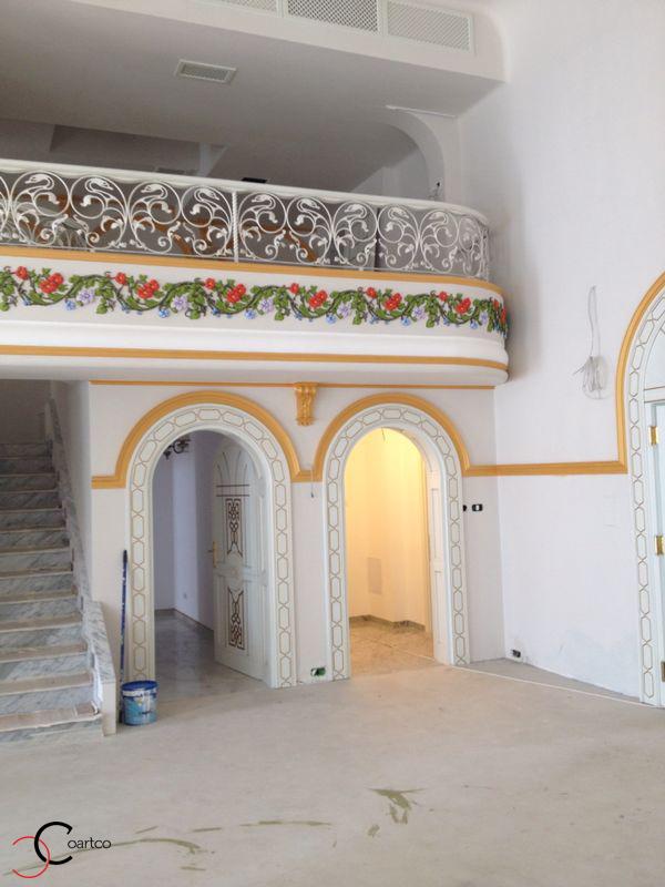Profile decorative CoArtCo din polistiren pentru salon de nunti si evenimente Oradea