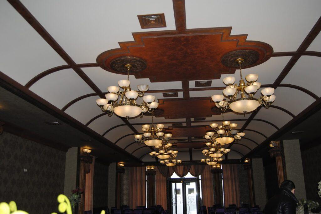 Profile decorative din polistiren CoArtCo pentru interior sala de evenimente