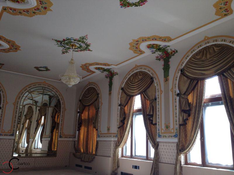 Profile decorative din polistiren CoArtCo pentru sali de nunti si evenimente