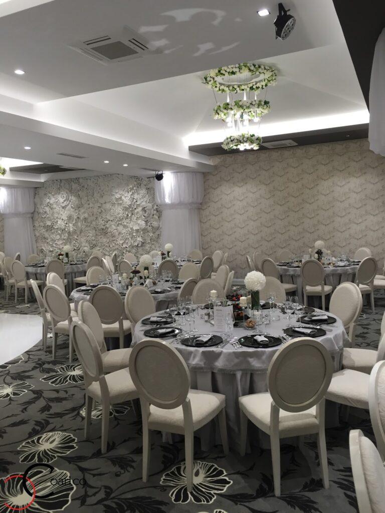 Panou 3D decorativ din polistiren pentru sala de evenimente Panciu