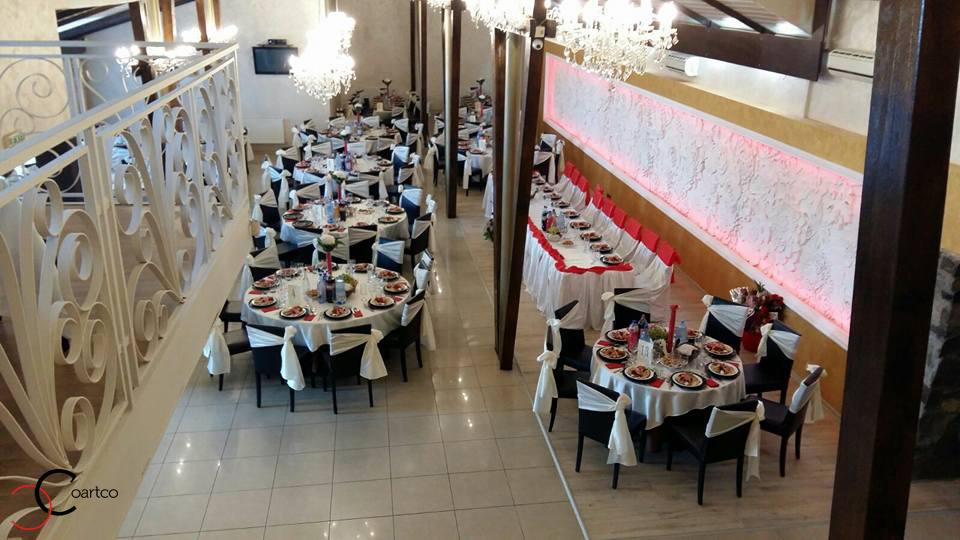 Panou decorativ 3D din polistiren CoArtCo pentru salon de evenimente Regina din Bistrita
