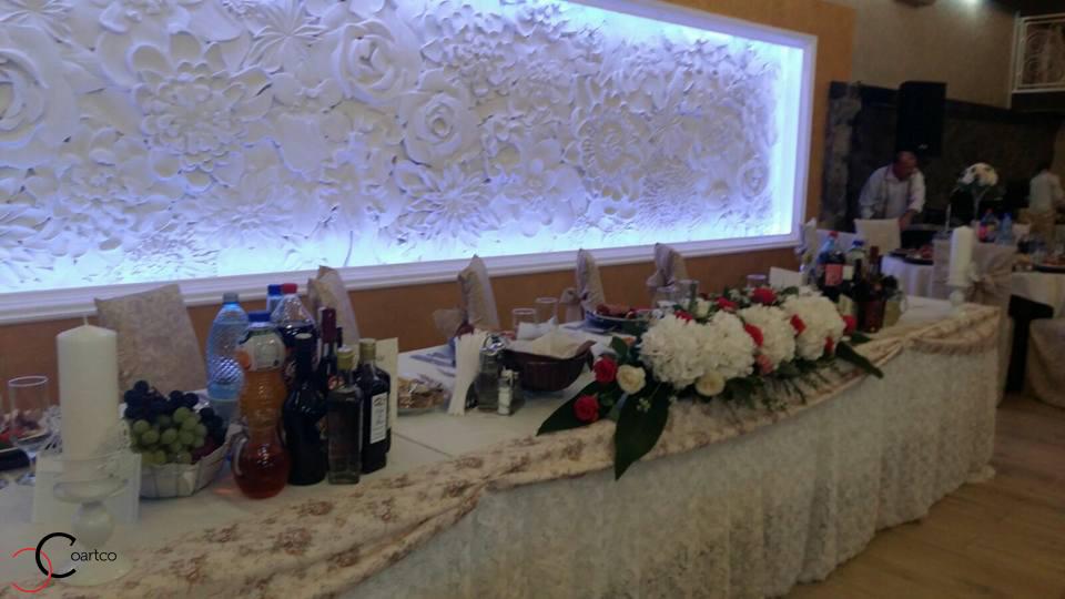 Profile decorative din polistiren CoArtCo pentru saloane de evenimente