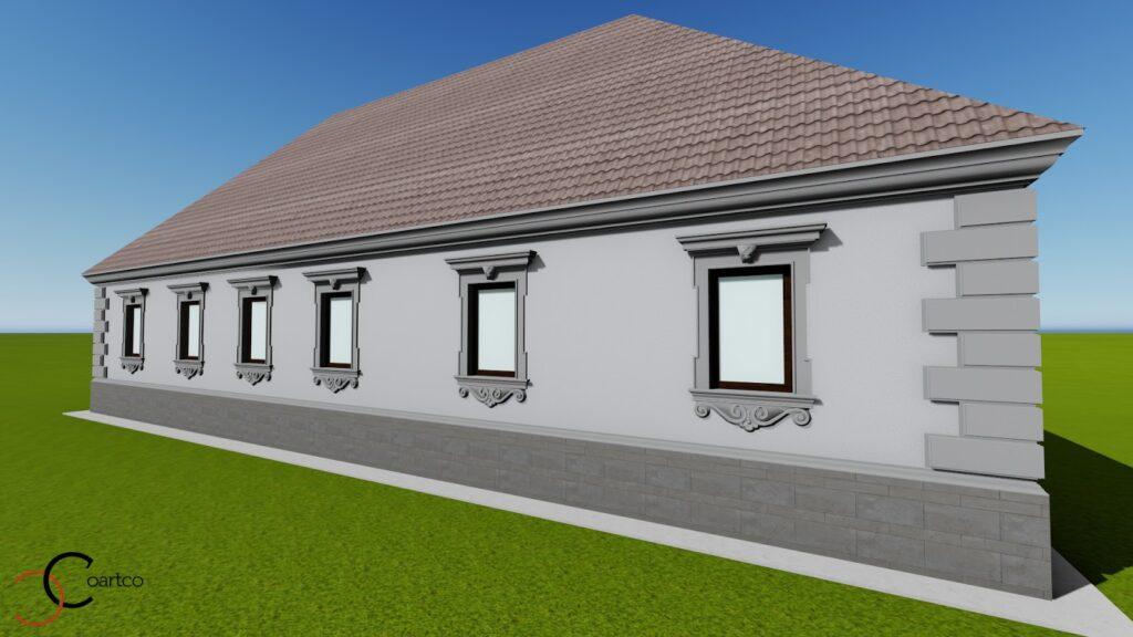 CoArtCo serviciu suplimentar realizare simulare de design cu profile decorative CoArtCo