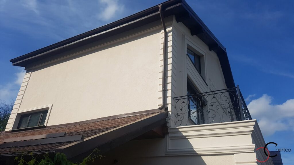 Profile decorative personalizate din polistiren CoArtCo pentru fatada casa