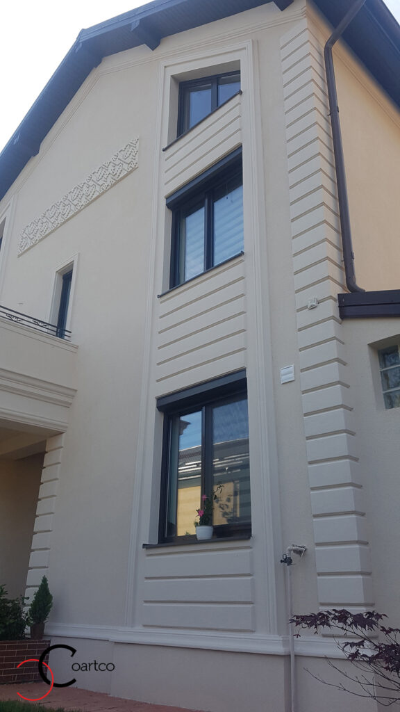Profile decorative personalizate din polistiren CoArtCo pentru exterior