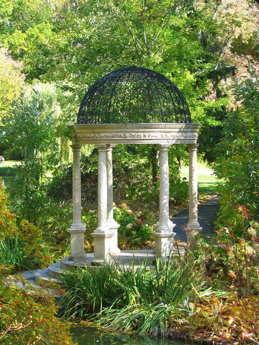 Foisor rotund nunta cu coloane decorative din polistiren CoArtCo