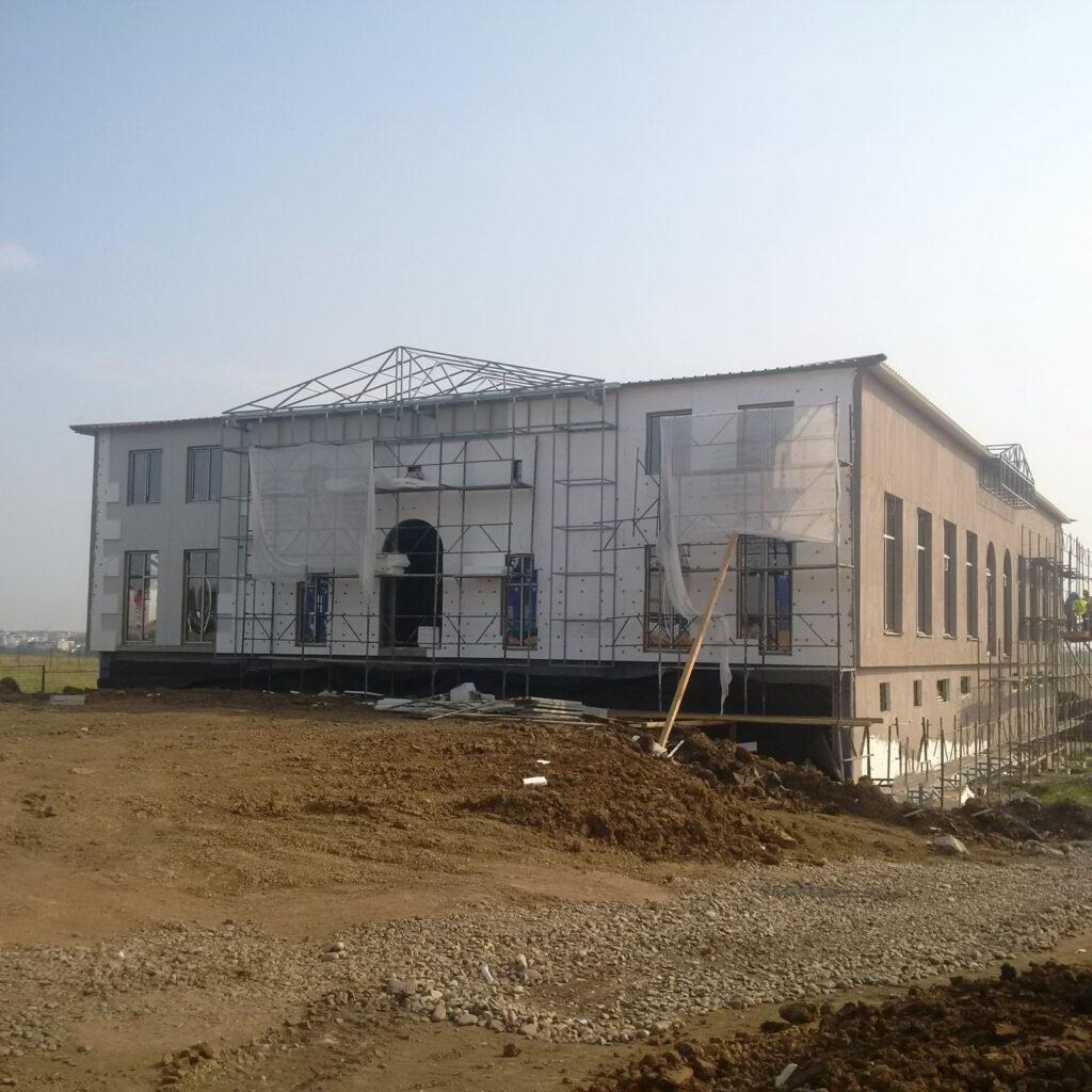 Constructie terasa metalica salon de evenimente
