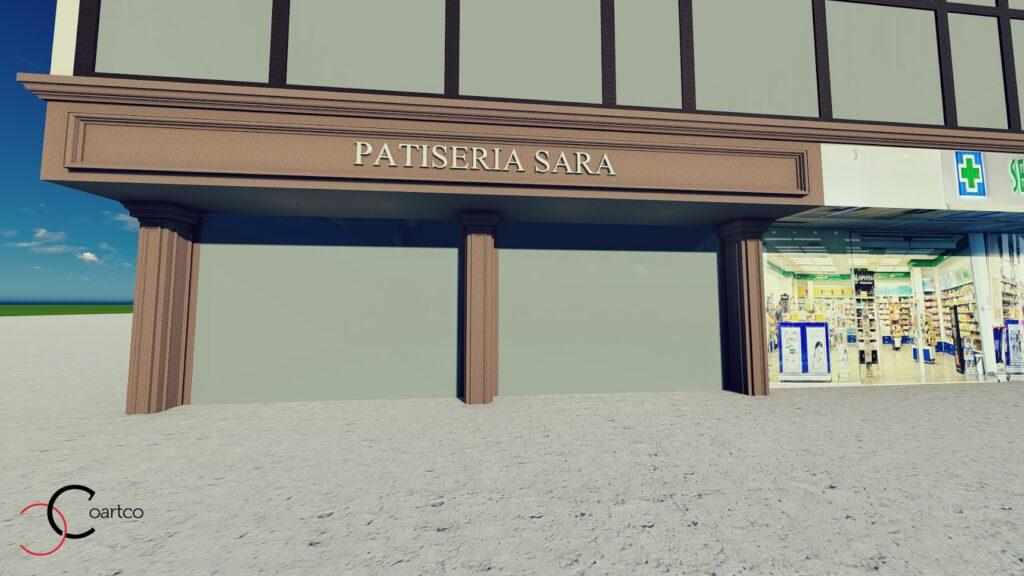 Serviciu suplimentar simulare design fatada casa cu profile decorative din polistiren CoArtCo