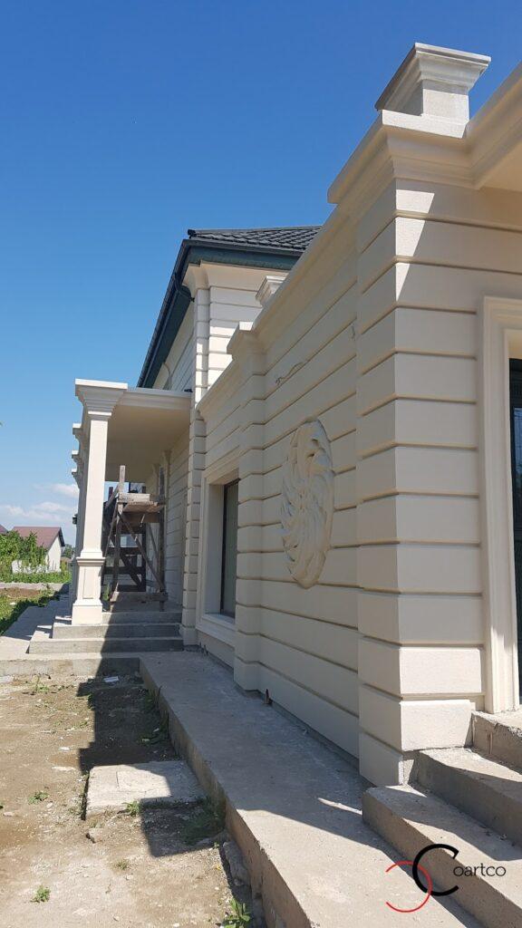 Bosaj colturi fatada casa din polistiren CoArtCo