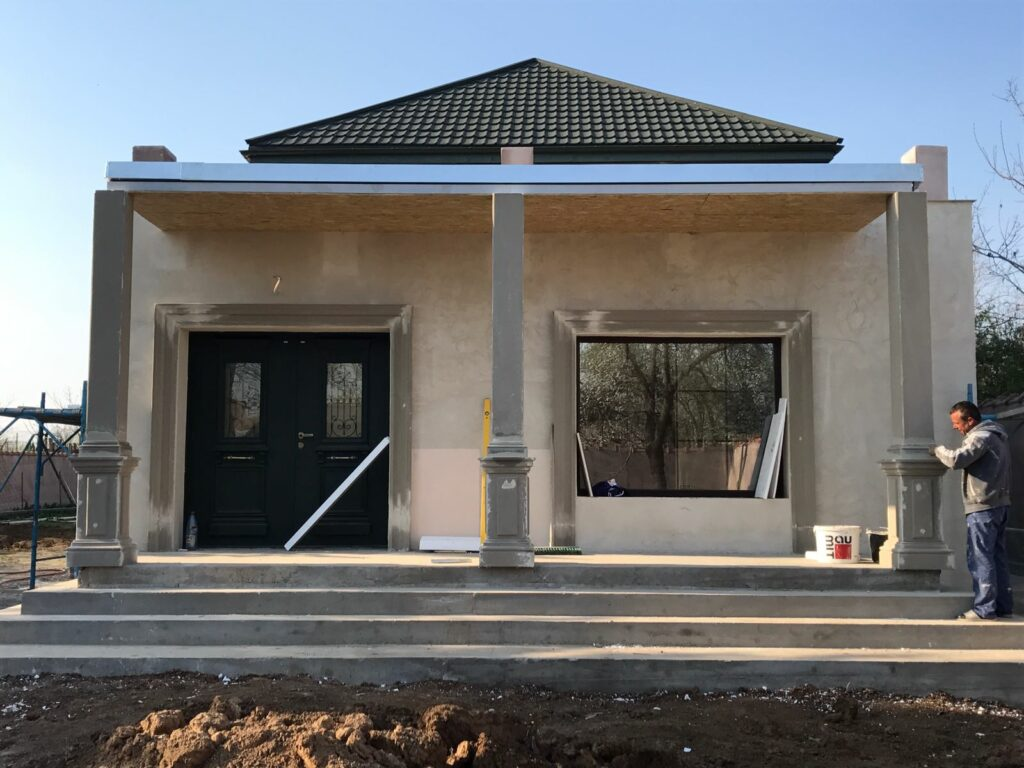 Amenajare constructie terasa metalica cu profile decorative CoArtCo