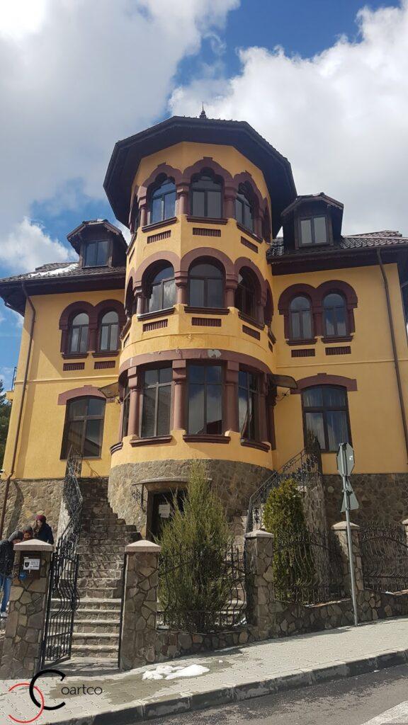 Pensiunea Casa Dunarea Predeal fara profile decorative CoArtCo