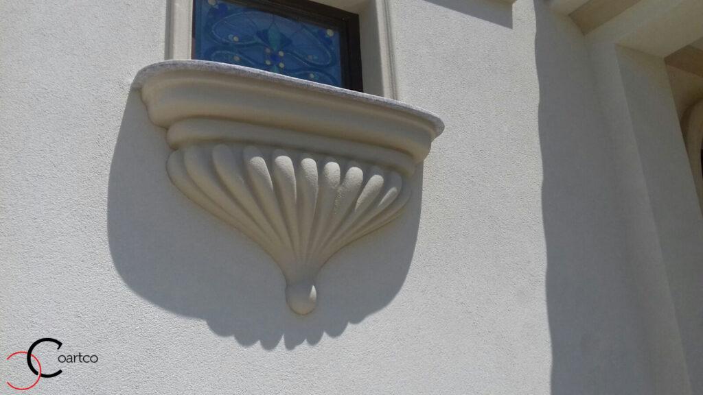 Intrados balcon personalizat din polistiren CoArtCo