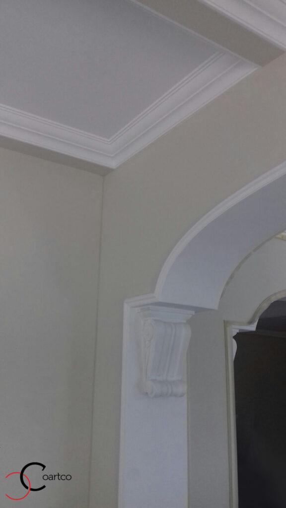 Cornisa pentru interior si stucatura decorativa din polistiren CoArtCo