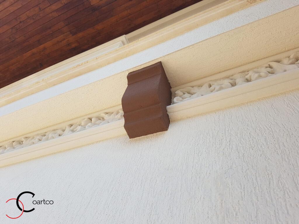 Cornisa cu consola decorativa din polistiren CoArtCo