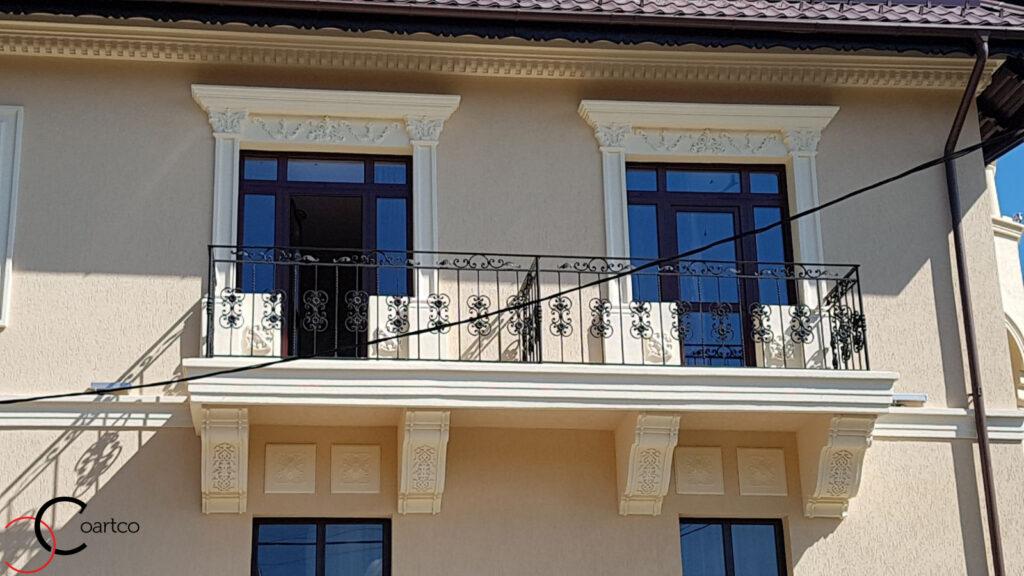 Ancadramente ferestre si brau decorativ din polistiren CoArtCo