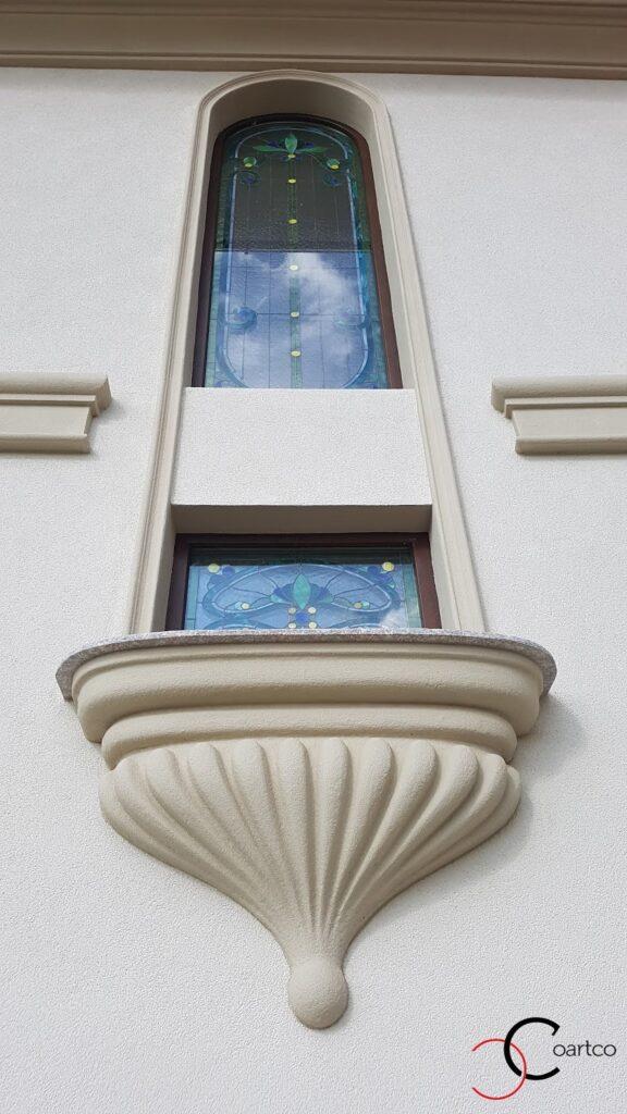 Intrados balcon stucatura decorativa din polistiren CoArtCo
