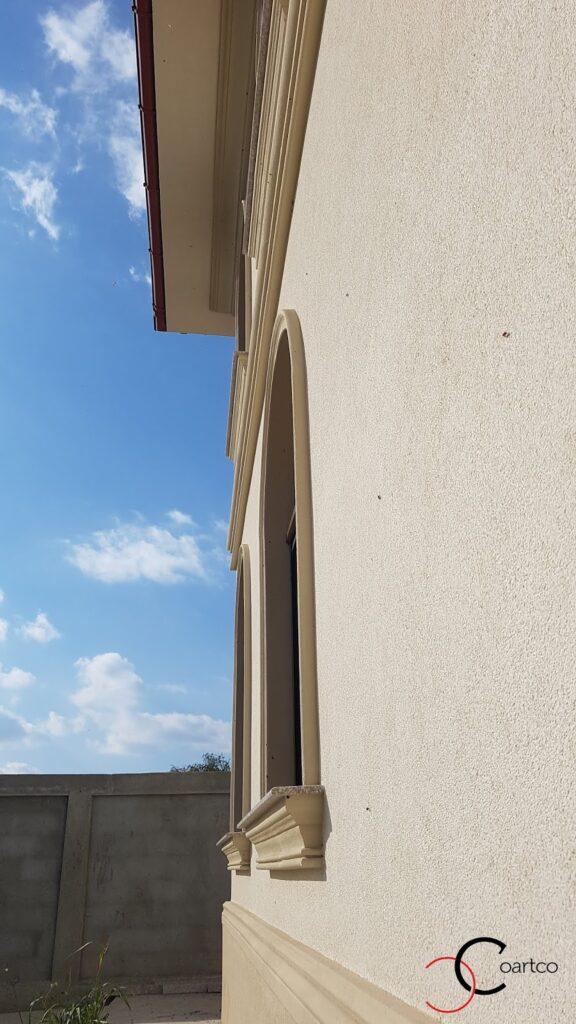 Solbanc fereastra cu arcada din polistiren CoArtCo