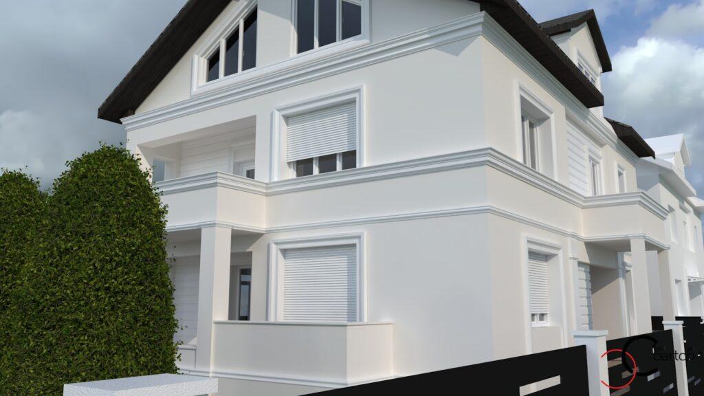 Serviciu suplimentar simulare fatada casa CoArtCo