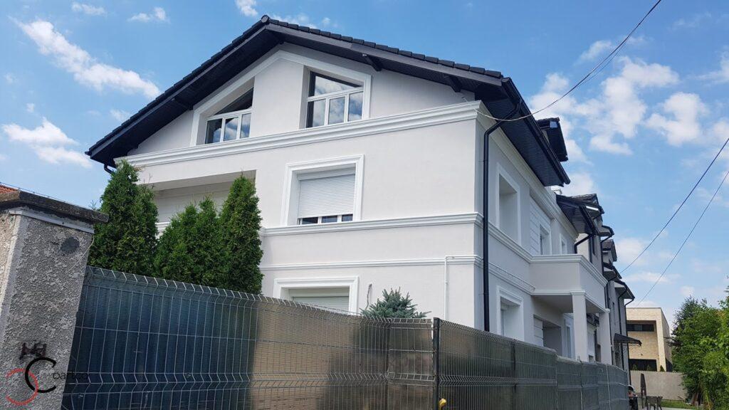 Profile decorative personalizate pentru exterior pe fatada casei