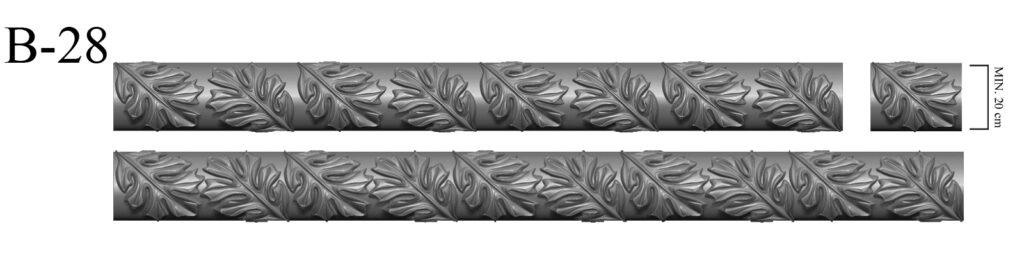 Brau - Bagheta Polistiren producator profile decorative din polistiren