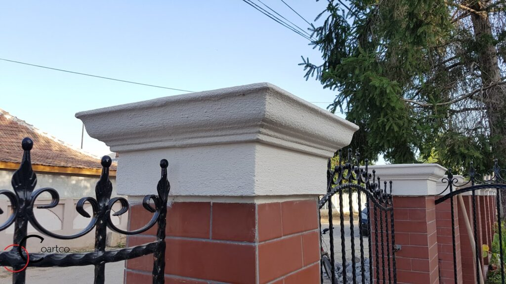 Profile decorative din polistiren CoArtCo pentru gard