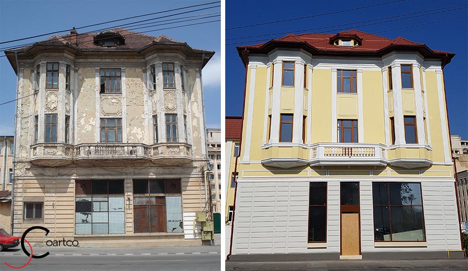 Proiect cladire comerciala Bucuresti