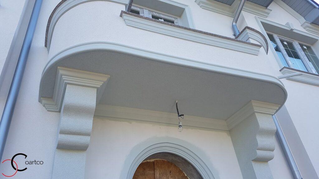 Cornisa pentru balcon decorativa din polistiren CoArtCo
