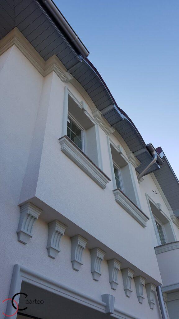 Profile decorative pentru fatada casei din polistiren CoArtCo
