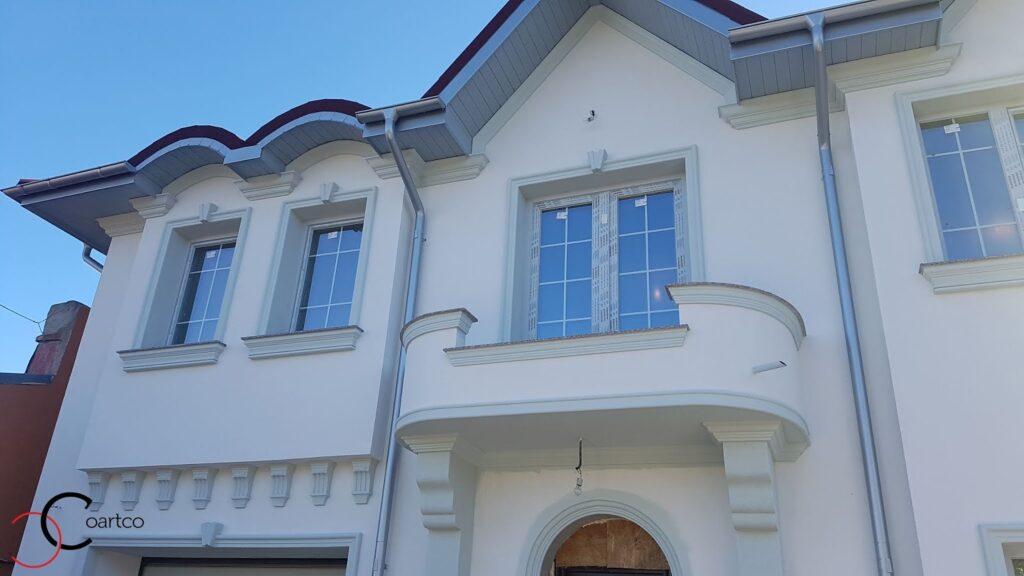 Kituri ferestre cu cornisa decorative din polistiren CoArtCo