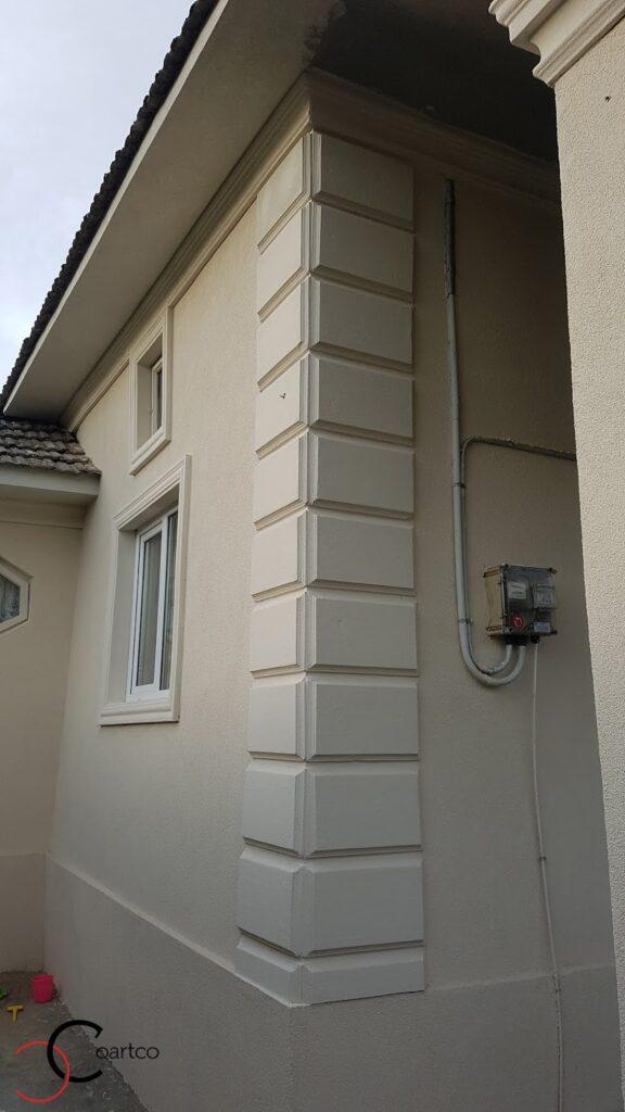 Bosaj decorativ pentru coltul casei din polistiren CoArtCo