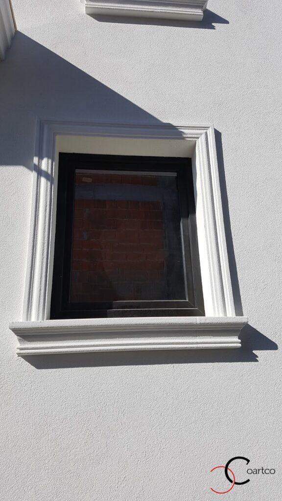 Ancadrament fereastra decorativ personalizat din polistiren CoArtCo