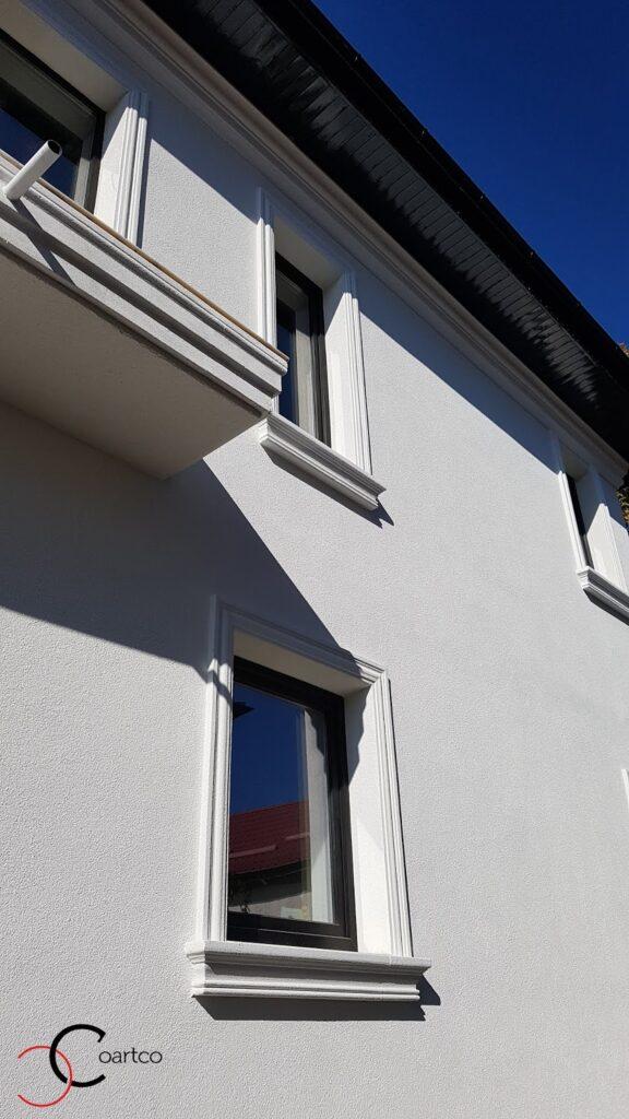 Ancadramente ferestre personalizate cu solbanc din polistiren CoArtCo
