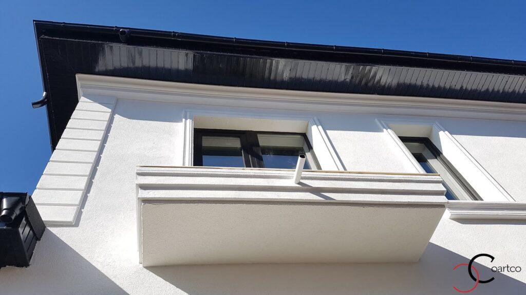 Brau decorativ din polistiren CoArtCo pentru balcon