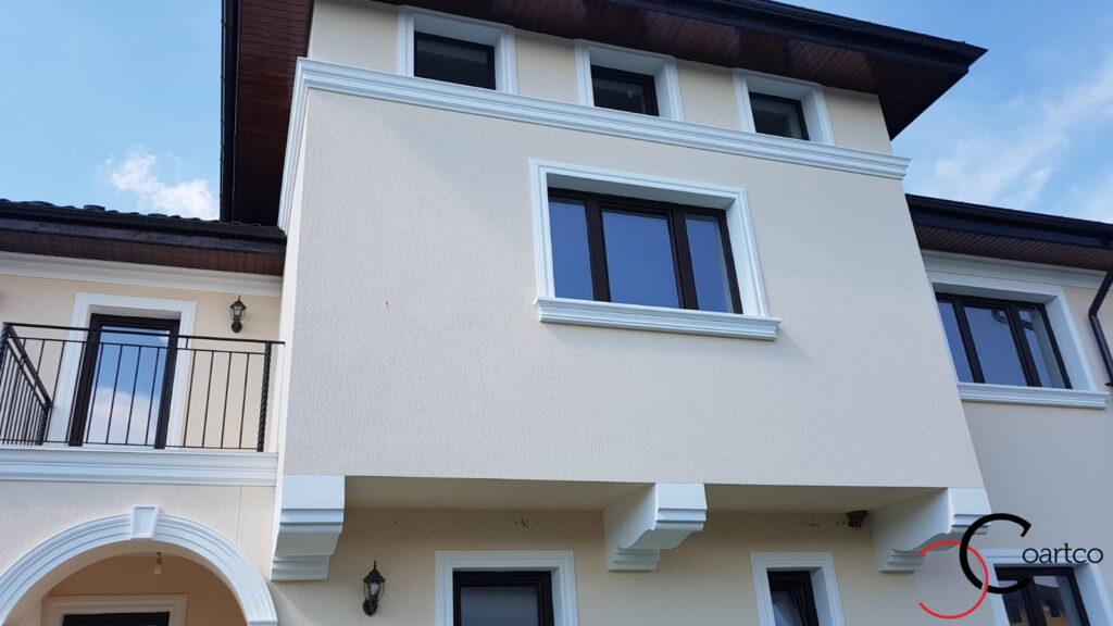 Ancadramente ferestre si console decorative din polistiren CoArtCo