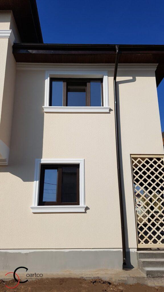 Cornisa si ancadramente geamuri decorative din polistiren CoArtCo