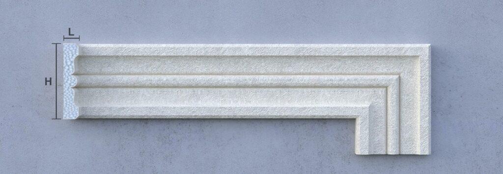 Ancadramente decorative din polistiren personalizate CoArtCo