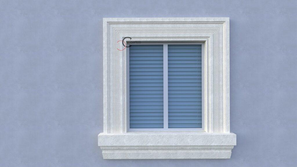 Profile din polistiren pentru ancadramente la fereastra CoArtCo
