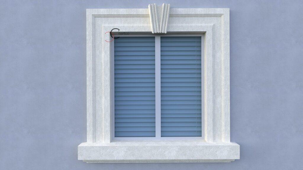 Decoratiuni ferestre exterior din polistiren CoArtCo
