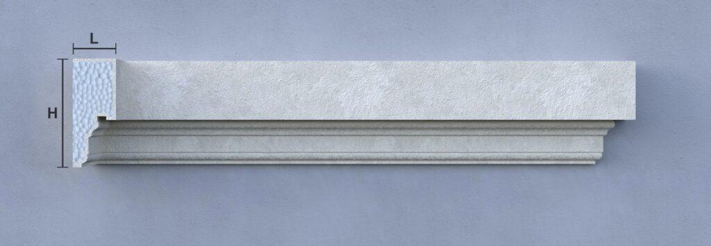 Solbancuri decorative din polistiren personalizate CoArtCo